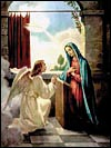 Online Rosary - Holy Rosary - First Joyful Mystery