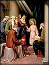 Online Rosary - Holy Rosary - Fifth Joyful Mystery