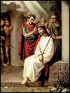Online Rosary - Third Sorrowful Mystery