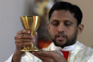 The Eucharist gives eternal life to all who believe