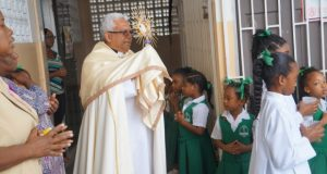 Eucharistic Adoration and Benediction at St Gabrel's Girls Catholic School