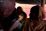 immunizing Rohingya children against diphtheria